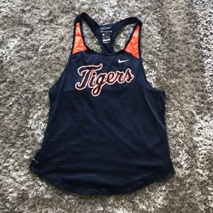 Nike Detroit Tigers Tank. Navy. Size Medium